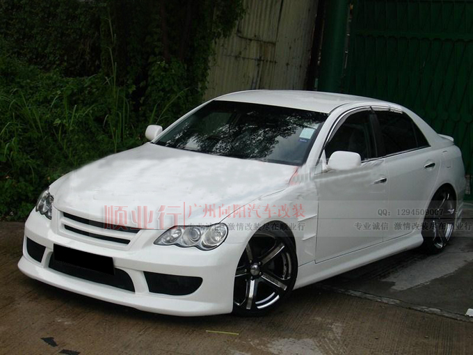 Обвес Topmix the international brand  TOPMIX 06Toyota Mark HKS Style Body Kit HKS аэродинамический обвес toyota mr