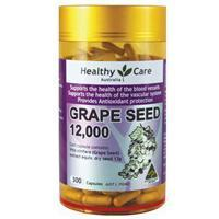Другие Australia's high content of grape seed capsules 300 tablets of nature's care 12000mg radiation Nature's Care 300 12000mg natural grape seed extract with 95