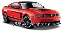 Защитное снаряжение для спорта Maisto Ford Mustang Boss 302-Colors May Vary enfamil infant formula packaging may vary