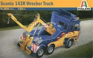 Модель машины Italeri  3838 SCANIA 143R WRECKER TRUCK out of print italeri 1 24 scania r143 streamline tractor cab special edition kit itl726