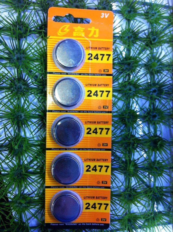 Батарейки-таблетки Colliers CR2477 3V батарейки таблетки matsushita 1220 panasonic 3v cr1220