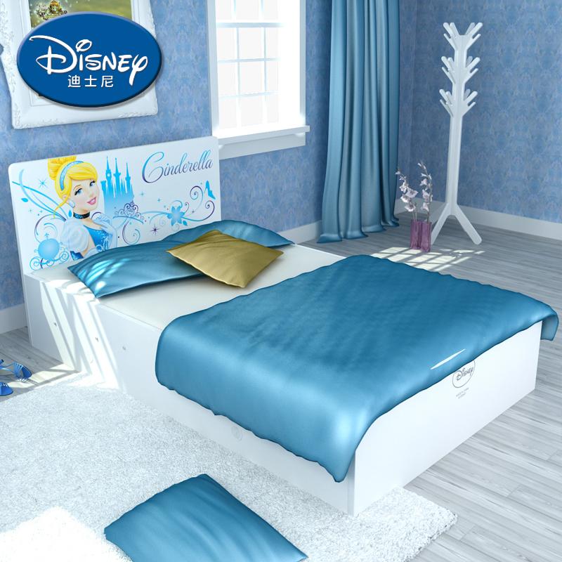 酷漫居迪士尼男女生单床