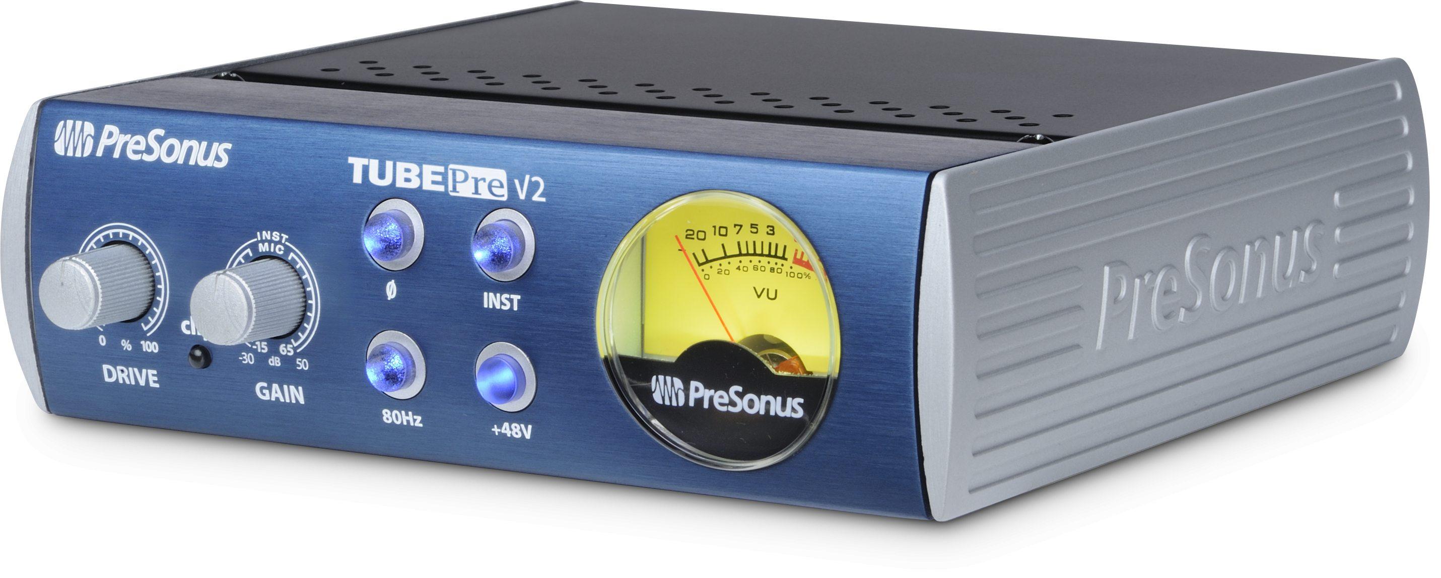 Микрофонный усилитель   PreSonus TubePre V2