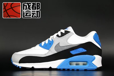 Кроссовки Nike  AIR MAX 90 LTR 724821-101 shoes men leather 2017 ms casual shoes low help white black flat leisure fashion female superstar shoes tenis feminino mujer