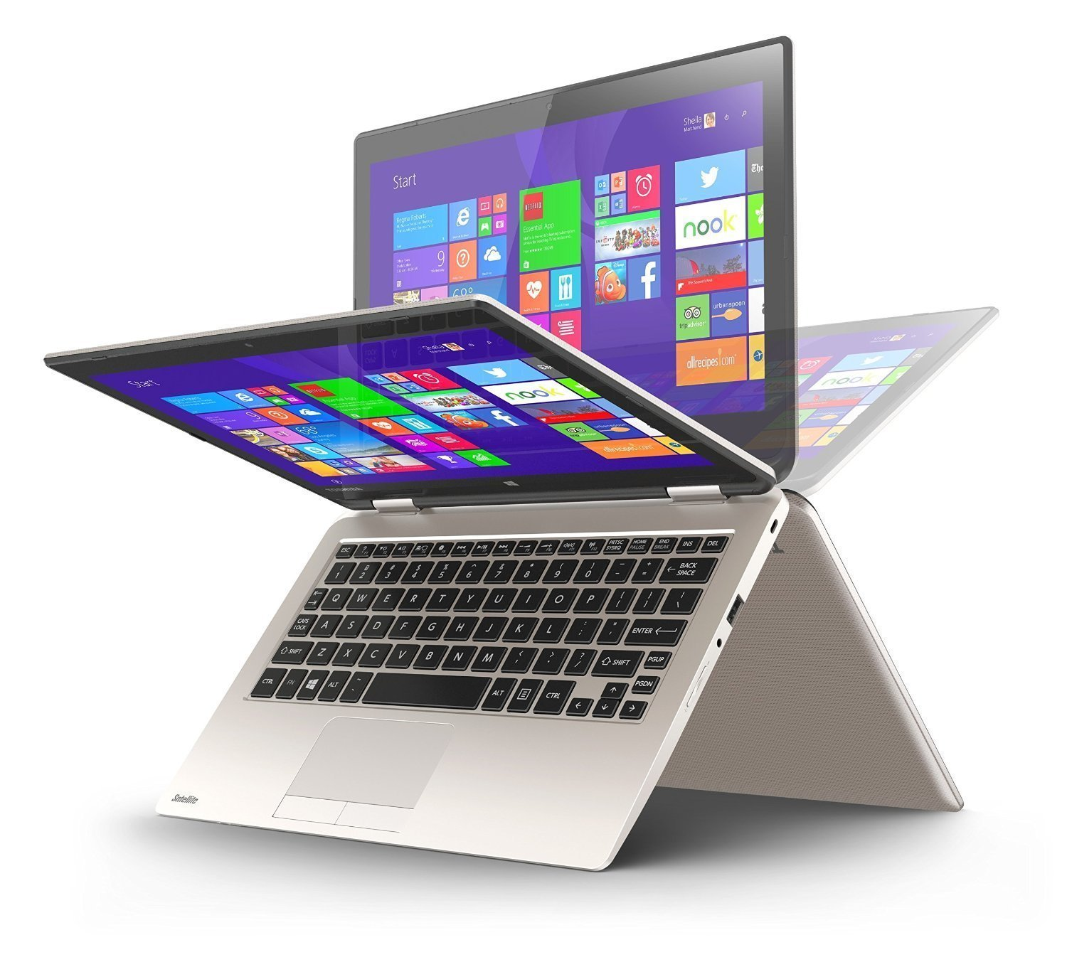 ноутбук Toshiba L50 AT Radius 2-in-1 11.6
