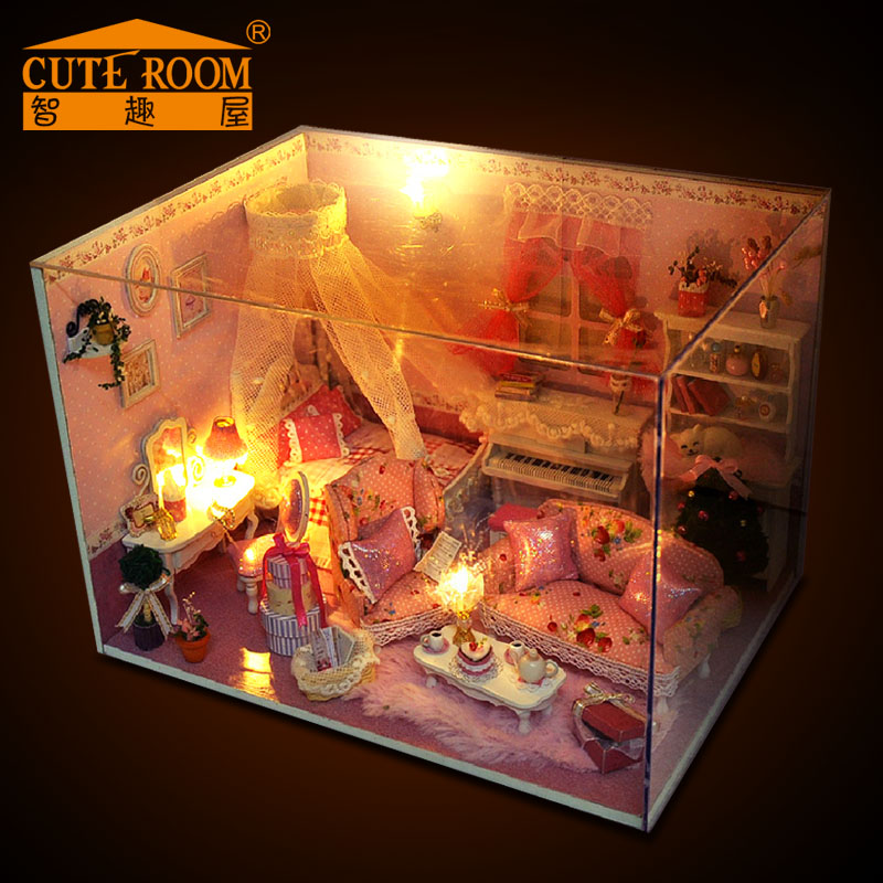 Модель дома Cute fun express room  Diy