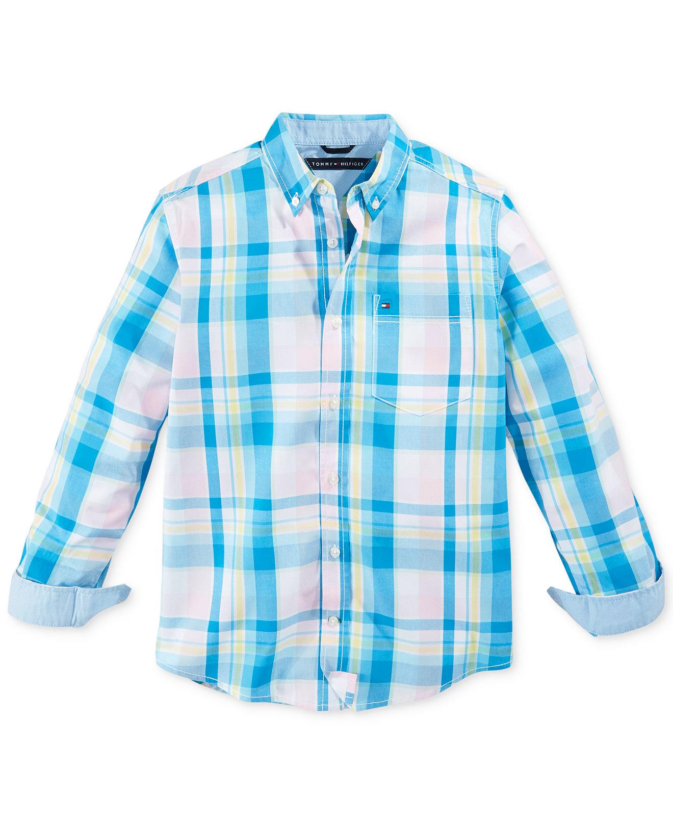 Рубашка детская Tommy hilfiger  2015 ML футболка детская tommy hilfiger 15