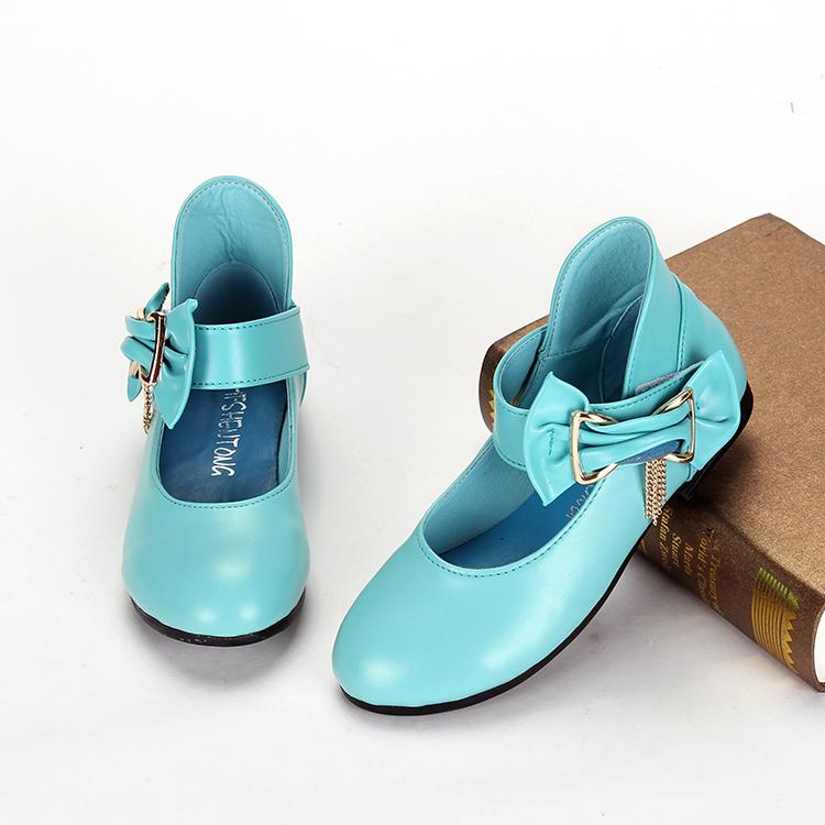 Детская кожаная обувь Authentic girls shoes 3389 2015 детская обувь для дома hole shoes 2015
