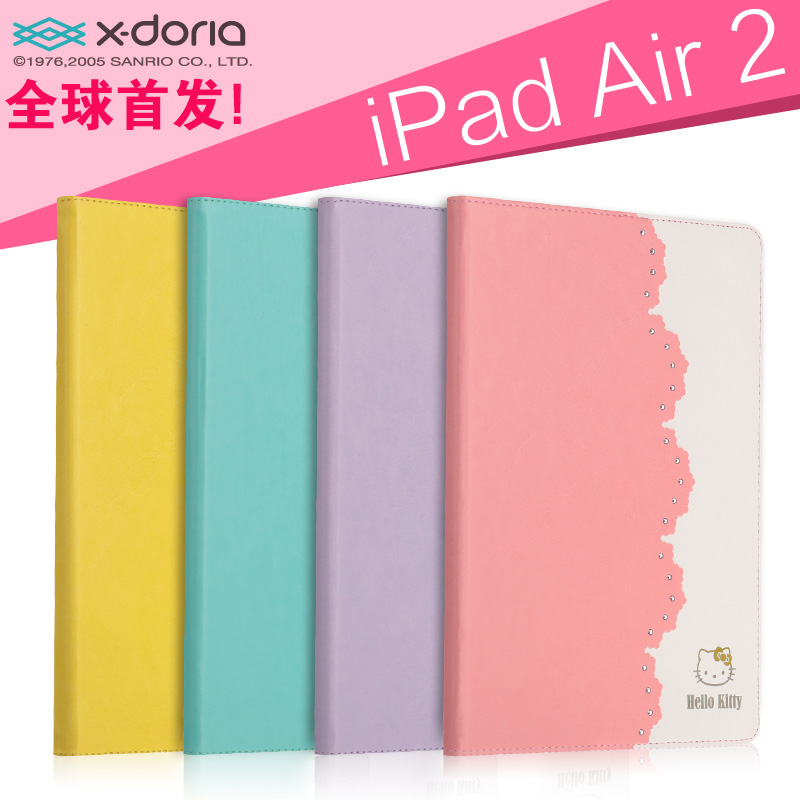 цена на Чехол для планшета X/doria  Hello Kitty Ipad6 Air