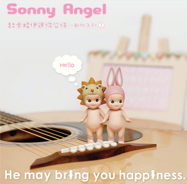 Куклы/ украшения/детали Sonny angel 1.0 sonny angel mini figures easter series 6pcs set toys christmas
