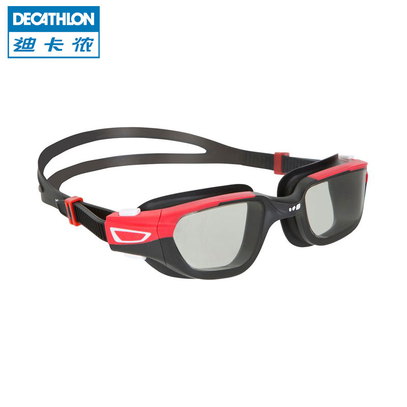 Очки для плавания Decathlon 0090513 UV Nabaiji кроссовки decathlon kalenji