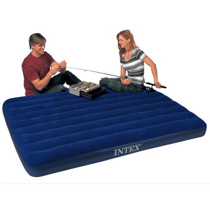 надувная кровать Intex  68755 надувная лодка intex challenger 193х108х38см 68365