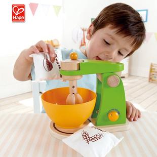 德国hape儿童过家家玩具木质环保简易搅拌机 3岁以上 美国直邮