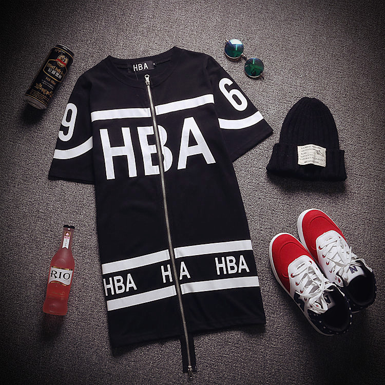 Футболка  918 2015 HBA BF TEE custo barcelona women s style 7 long sleeve graphic top 2390070