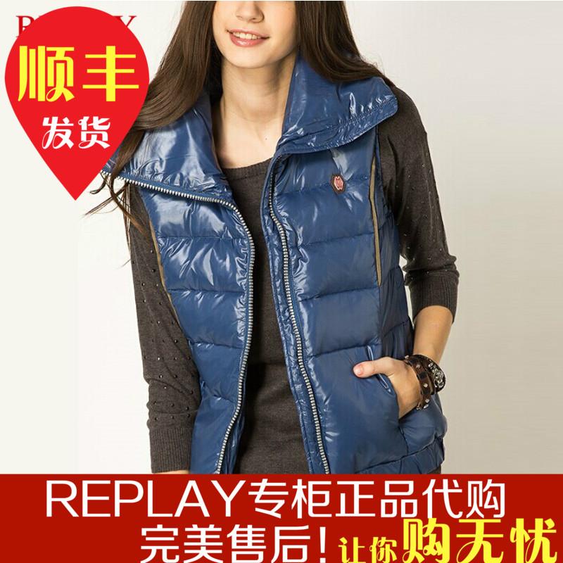 Женская жилетка REPLAY xw7937000x80874s свитер replay dk2162 g22266 050