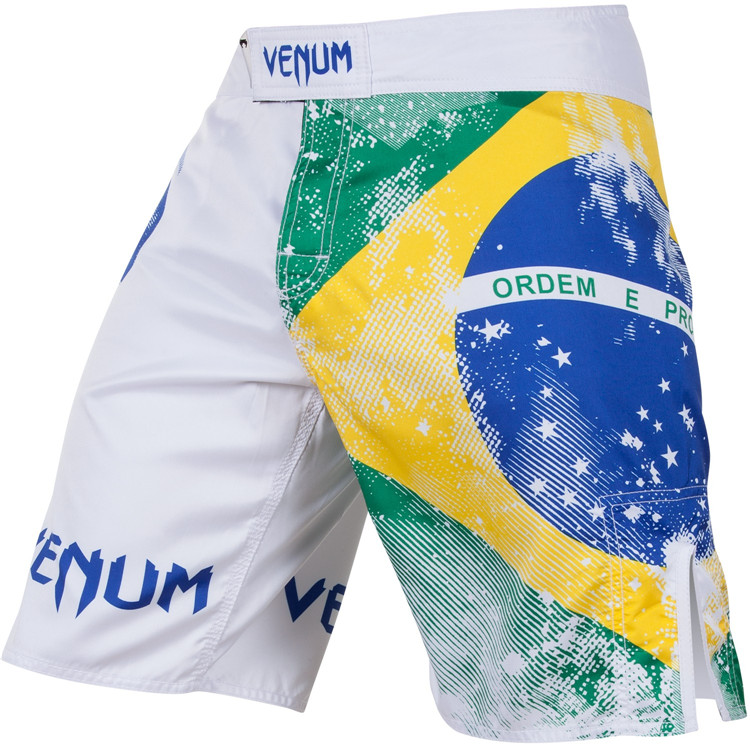 Спортивные шорты Venum  UFC BRAZILIAN FLAG FIGHTSHORTS MMS шорты venum шорты мма all flag black red