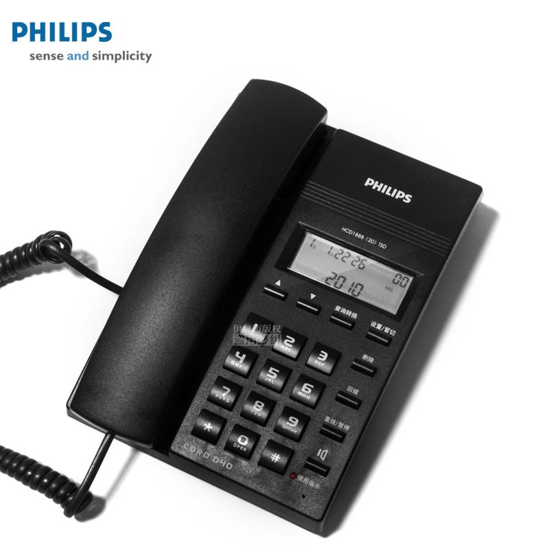 Проводной и DECT-телефон Philips  CORD040 проводной и dect телефон philips cord118b cord 118