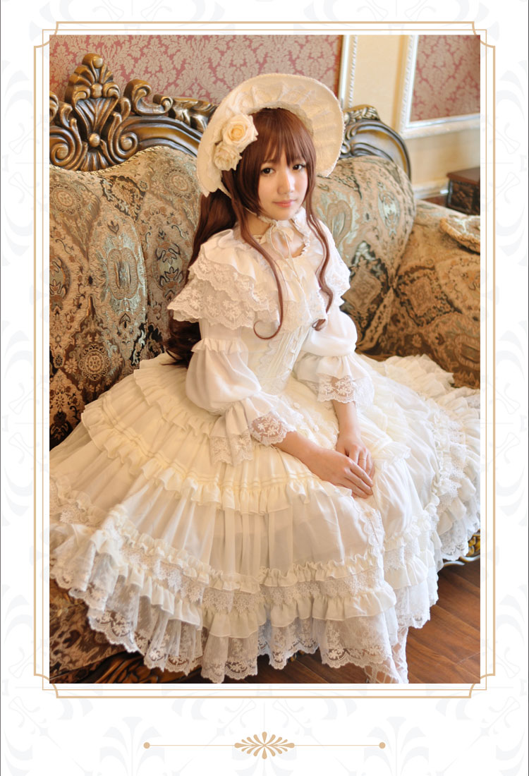 Женское платье Fairy tale forest Lolita Jsk the fairy doll