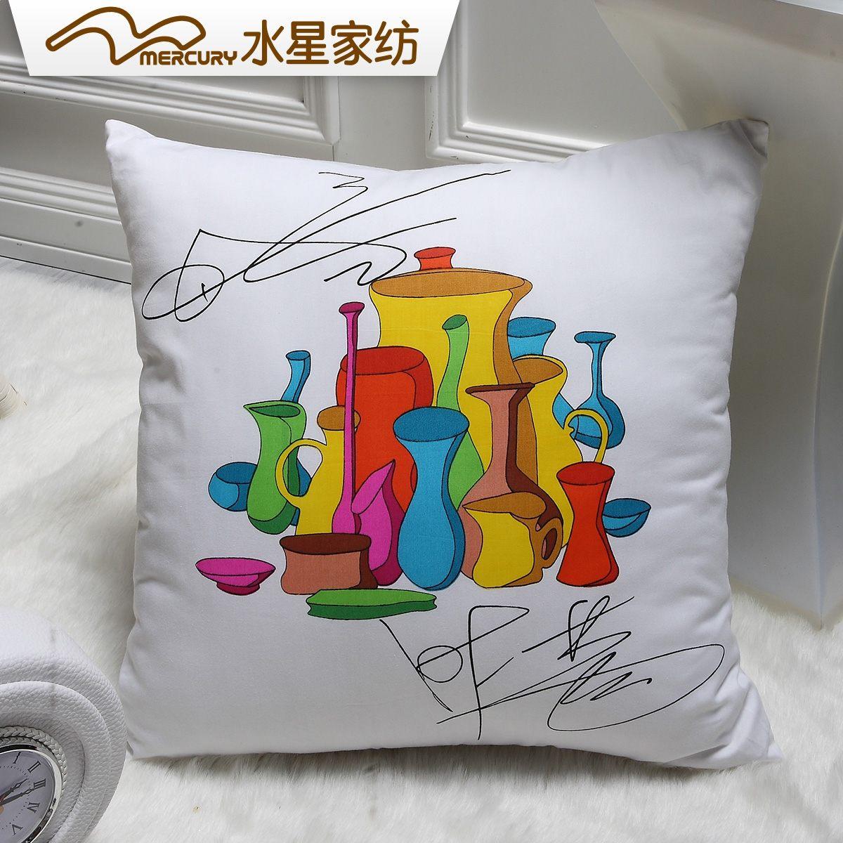 水星家纺明星设计时尚靠垫抱枕103834