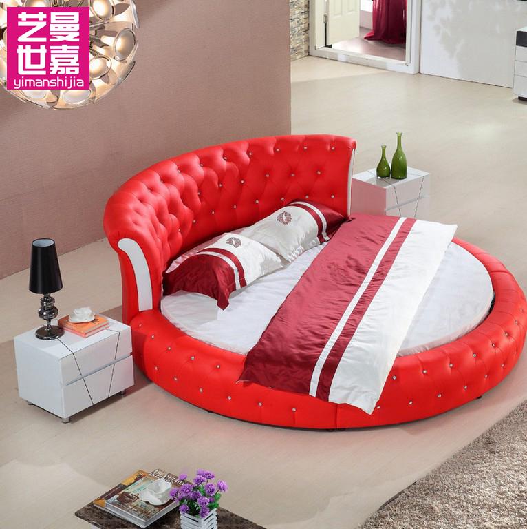 кожаная кровать Art Man Sega YIMANSHIJIA 865 sega