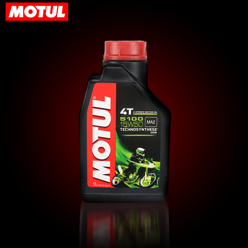 Моторное масло для мотоциклов Motul 5100 15W50 4T 1L моторное масло motul garden 4t 10w 30 2 л