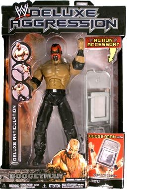 Подвижная модель куклы B  The BOOGEYMAN WWE Wrestling Deluxe Aggression Series 12 Fi