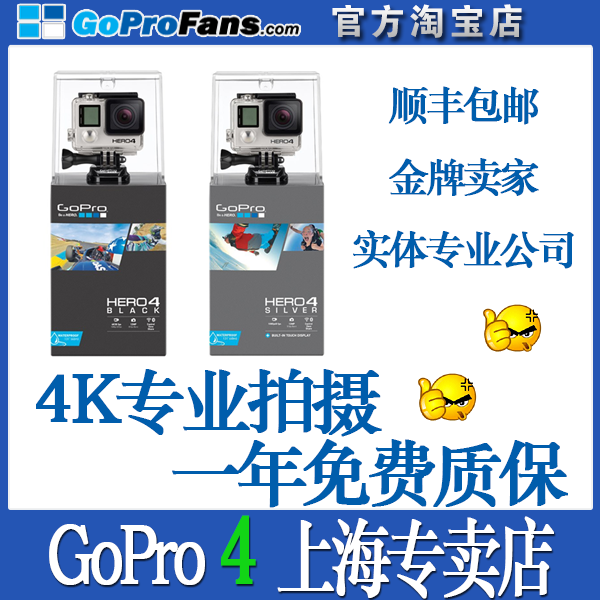 видеокамера OTHER  Gopro4 HERO4 GoPro Silver Black видеокамера other gopro4 hero4 gopro silver black