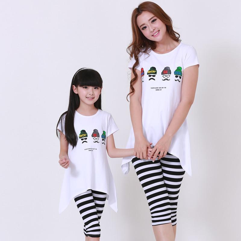 Семейные футболки Other Korean brands  2015 семейные футболки pinky 186 2015