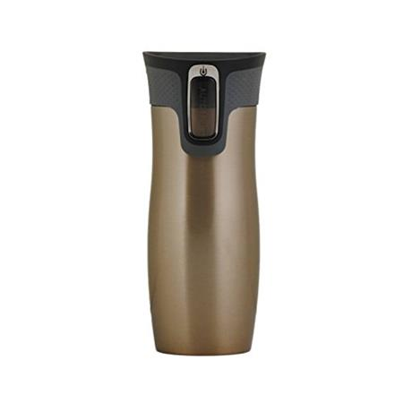 Термос/термочашка Contigo  16oz West Loop Travel Mug, Latte термокружка 0 47 л contigo west loop 0260 белый