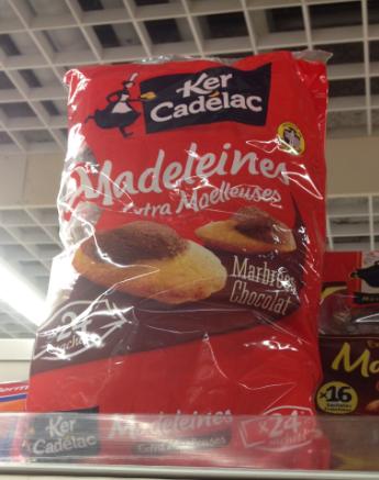 Пирожные Ker cadelac  Kercadelac Madeleine 400g madeleine кожаный топ