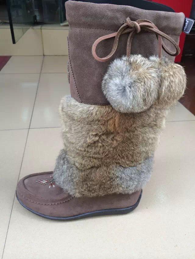 Зимние ботинки Muks