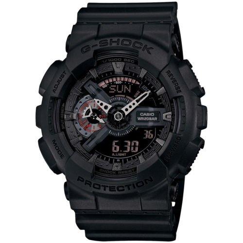 Часы CASIO  G-shock Gshock GA-110/mb/B/1A часы casio g shock ga 110gb 1a