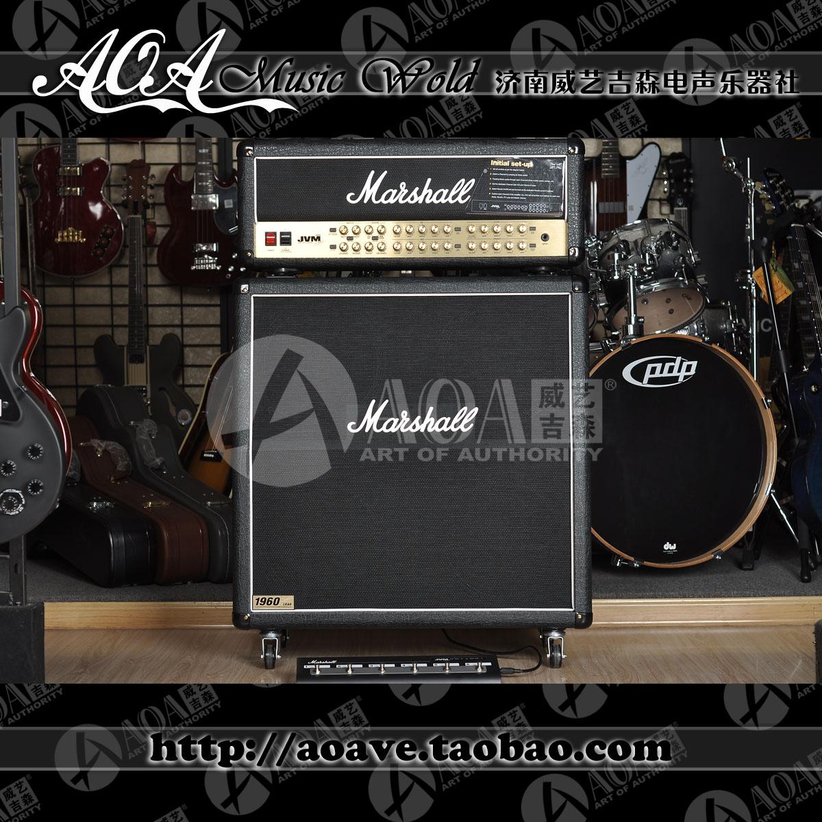 Гитарный усилитель MARSHALL 100% CCC JVM410H+1960A