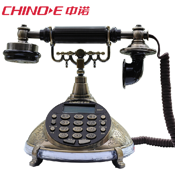 Проводной и DECT-телефон Chino e S007 met chino