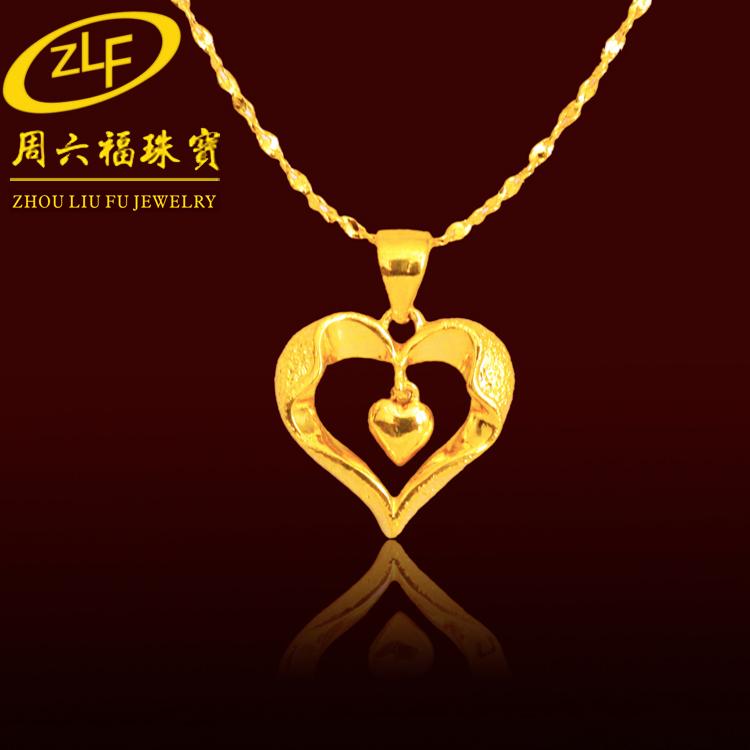 Ожерелье Luk Fook Jewellery  18k 18k цена 2017