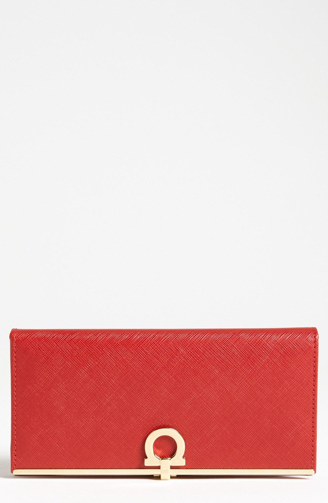 цена бумажник FERRAGAMO  658790 онлайн в 2017 году