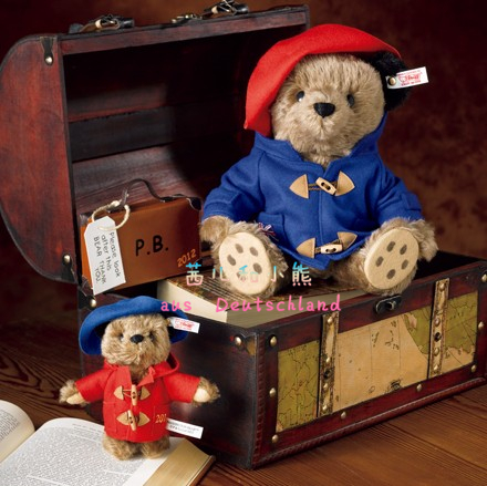 Мягкая игрушка Steiff Paddington Bear 28cm paddington bear page 6