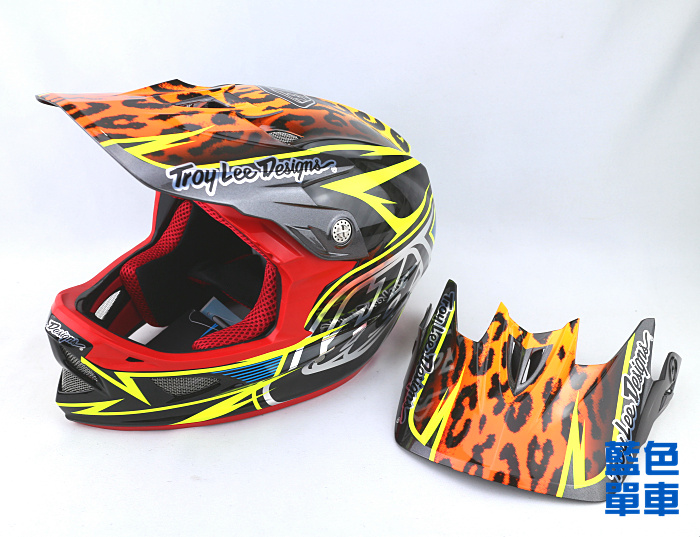 велошлем   2015 Troy Lee Designs D3 Carbon TLD DH
