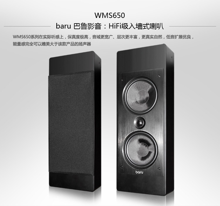 Hi-Fi акустика Baru  Hifi WMS650