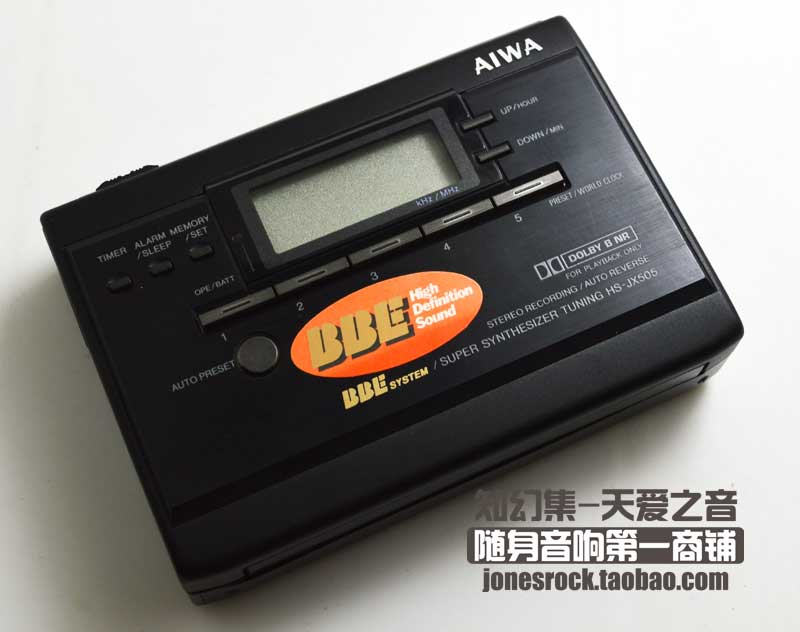 Кассетный плеер Aiwa JX505 foreign exchange and money markets