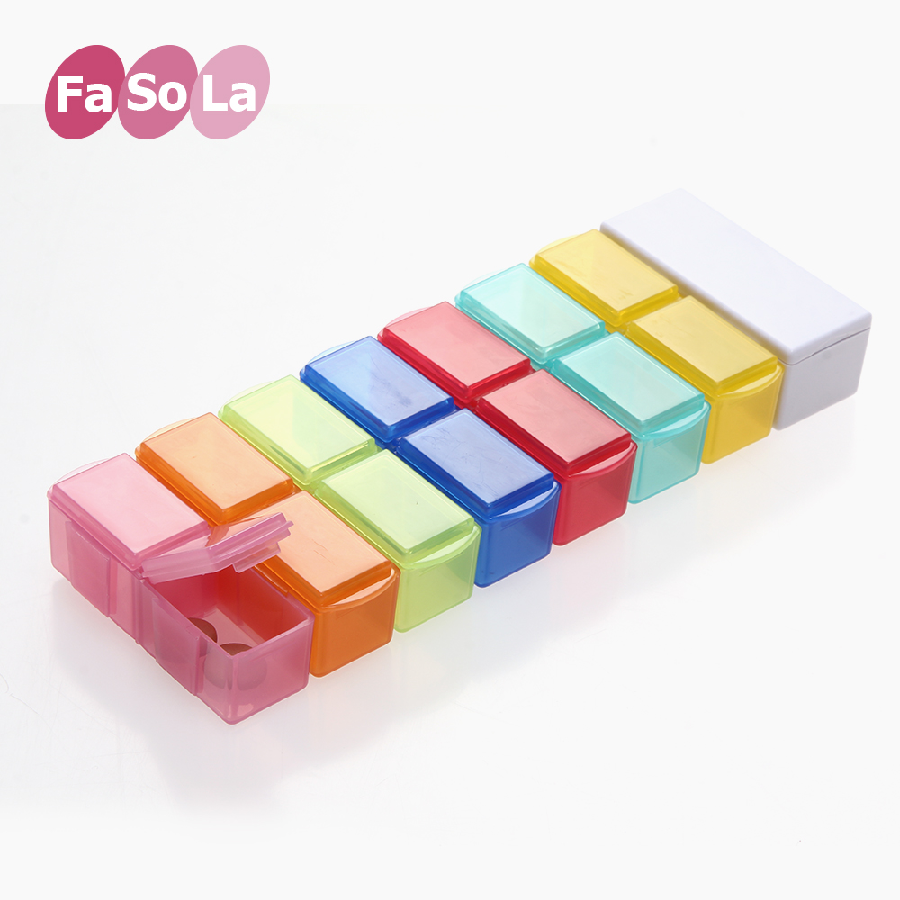Контейнер для медикаментов Fa so la  FaSoLa 14