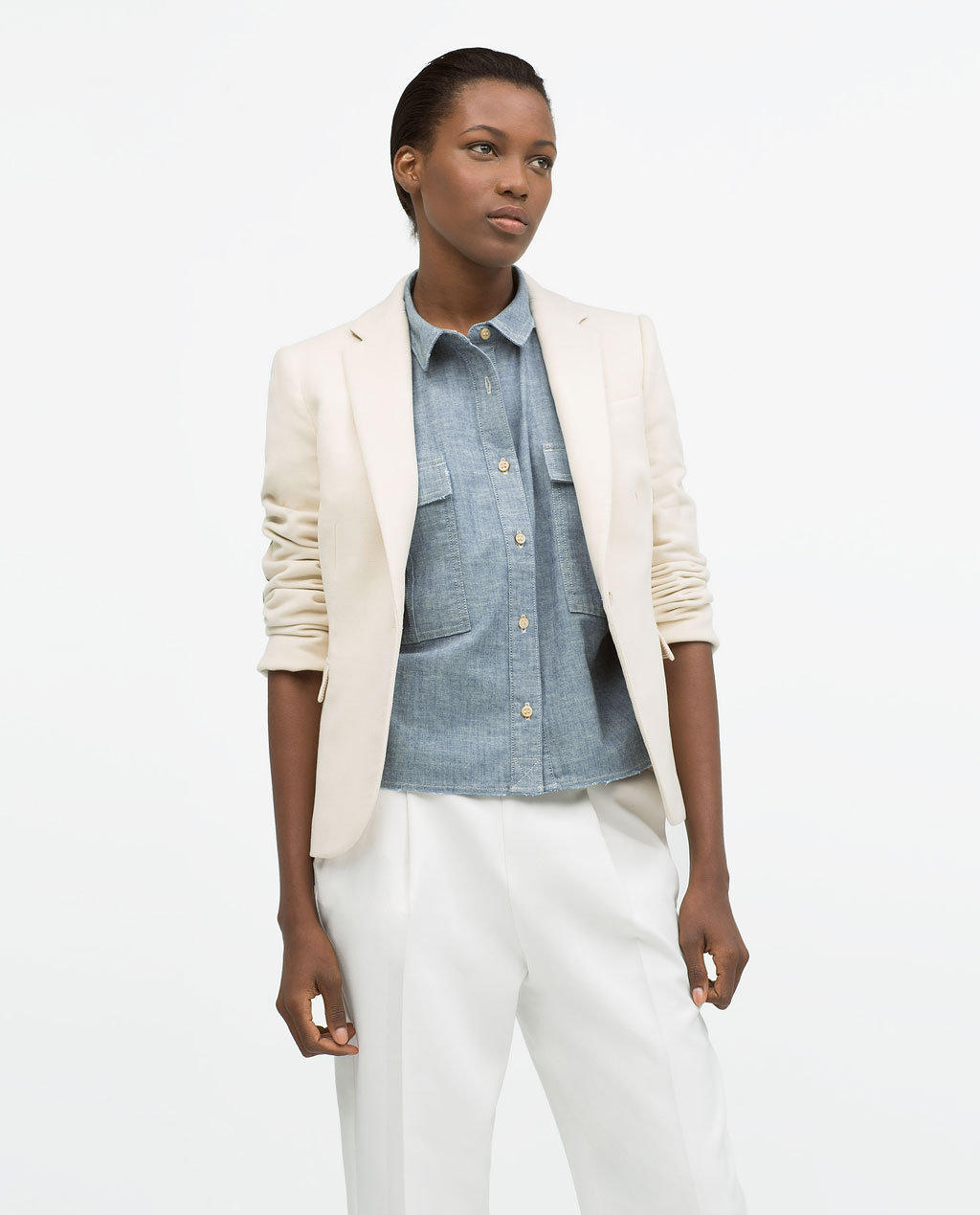 Короткая куртка ZARA 2095/281 15