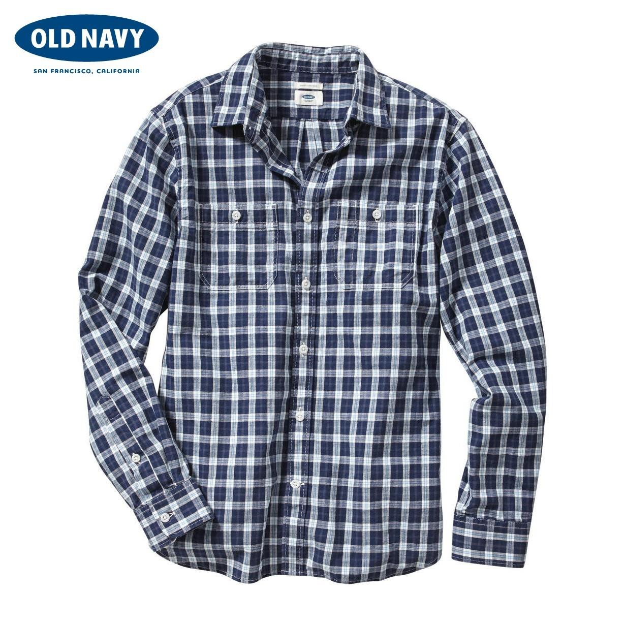 Рубашка мужская OLD NAVY 000119321 119321 джинсы мужские navy old