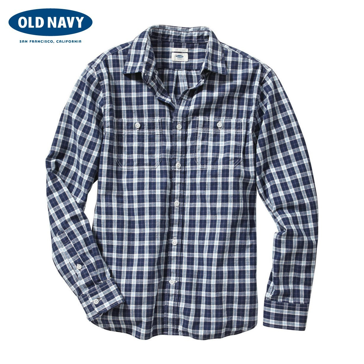 Рубашка мужская OLD NAVY 000119321 119321 рубашка мужская old navy 000438245 438245