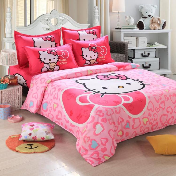 Комплект постельного белья Hello kitty s91204070123 KT комплект постельного белья factory outlet hello kitty