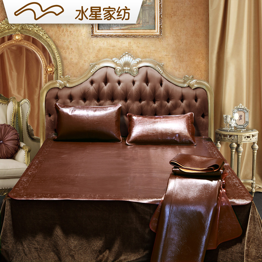 水星家纺牛皮枕套501207