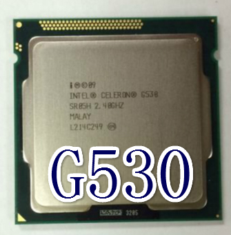 Процессор Intel  Celeron G530 CPU 2.4G LGA1155 процессор other intel celeron g530 cpu 2 4g lga1155