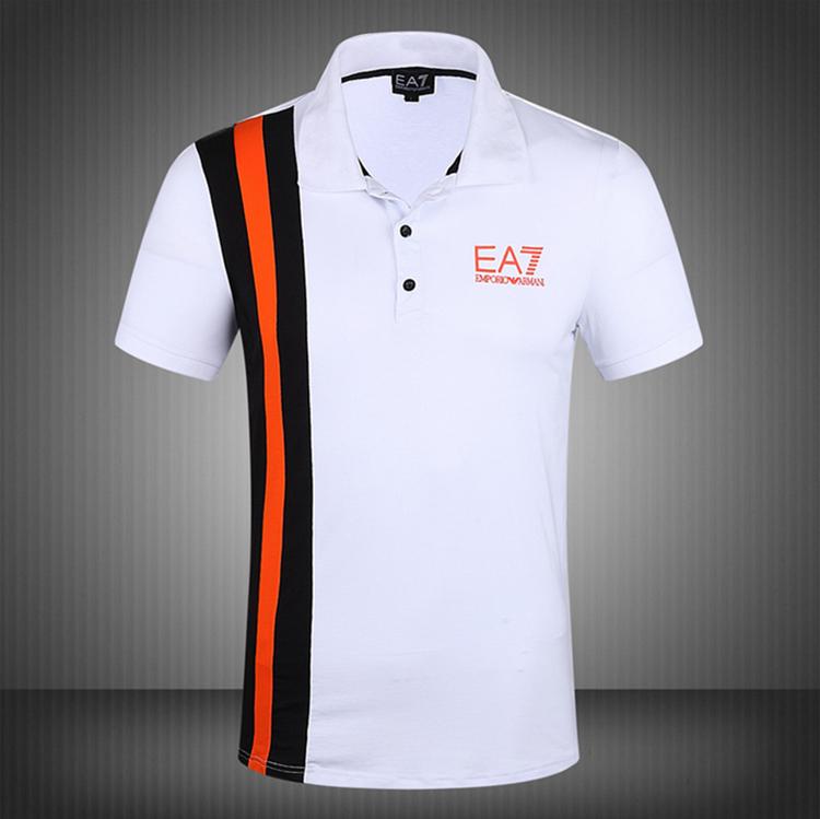 Рубашка поло epl011 EA7 2015 SS T-shirt Polo