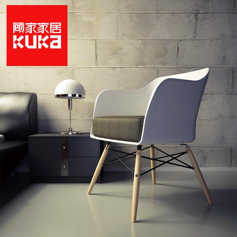 顾家家居日式木头餐椅101XJ