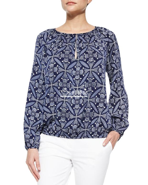 Блузка DVF  15 Tile блузка dvf блузка